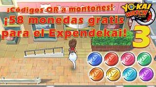 gua de yo kai watch cdigos qr a montones p3 58 monedas gratis para el expendekai