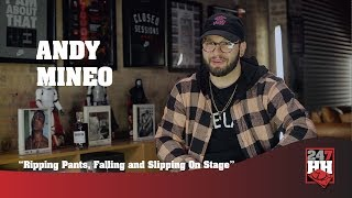 Andy Mineo - Ripping Pants, Falling and Slipping On Stage (247HH Wild Tour Stories)