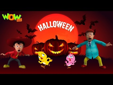 Halloween Special Video | Cartoon animation for kids |  Only on WowKidz |