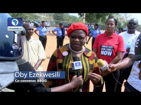 Download Youtube: Police Detain Oby Ezekwesili, BBOG Protesters In 'Human Prison'