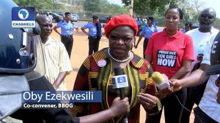 Police Detain Oby Ezekwesili, BBOG Protesters In 'Human Prison'