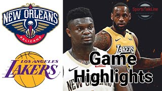 Lakers vs Pelicans Highlights  FULL GAME | NBA February 25