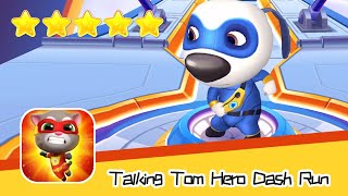 Talking Tom Hero Dash Run Day 105 Walkthrough Collecting Stuff Recommend index five stars