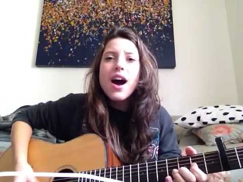 Michele Cordeiro - Rock This Town Acoustic Cover