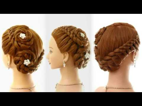 Fancy hairstyles with four strand braids youtube fancy hairstyles with four strand braids urmus Choice Image