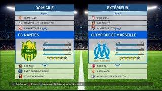 Nantes - Marseille [PES 2017] | Ligue 1 Conforama 2017-2018 (2nde Journée) | IA Vs. IA