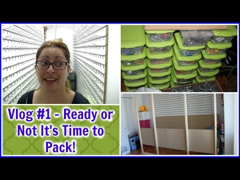 Vlog #1 | Ready or Not It's Time to Pack !