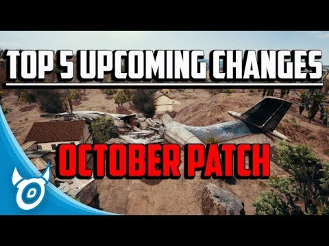 Download Youtube: Top 5 Anticipated Changes: PUBG October Patch - PLAYERUNKNOWNS BATTLEGROUNDS NEWS