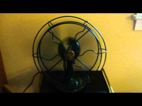 "For the Antique Crowd- '30s GE 10"" Fan"