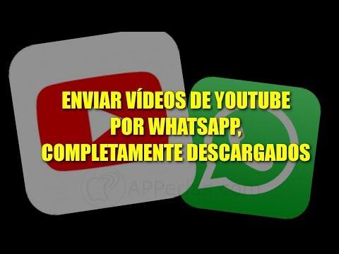 Cómo enviar vídeos de Youtube directos por WhatsApp con IPHONE (NO LINK) | Trucos de WhatsApp #18