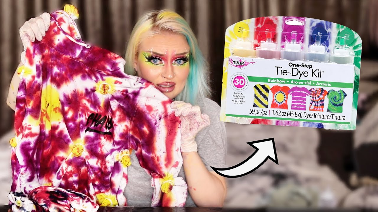 what even is this Tie-Dye kit for children