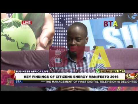 BTA: Discussing the Citizen's Energy Manifesto 2016- ACEP