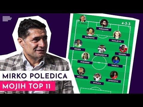 Mojih TOP 11: Mirko Poledica bira svojih idealnih 11! | S01E08