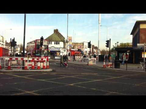 London Streets (594.) - Highgate - Hornsey - West Green - Tottenham Hale - Walthamstow