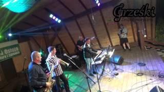 Zespół Grześki na festynie w Laskowej