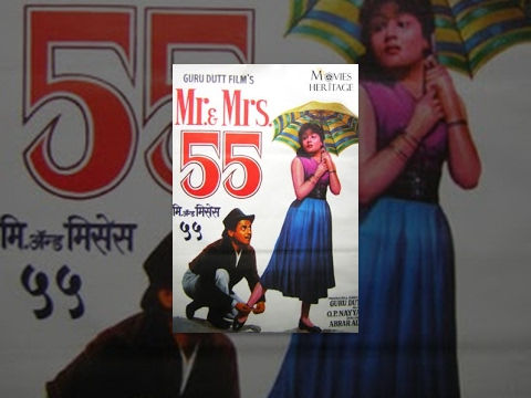 Mr & Mrs 55  Guru Dutt, Madhubala, Lalita Pawar  Superhit Classic Bollywood Movies