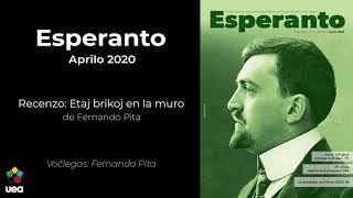 Voĉlegita Esperanto nr-o 4 2020 p. 91 – Recenzo: Etaj brikoj en la muro