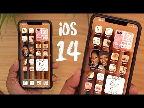 iOS 14 Homescreen Setup - Tips/Tricks + Favorite Custom Widgets!
