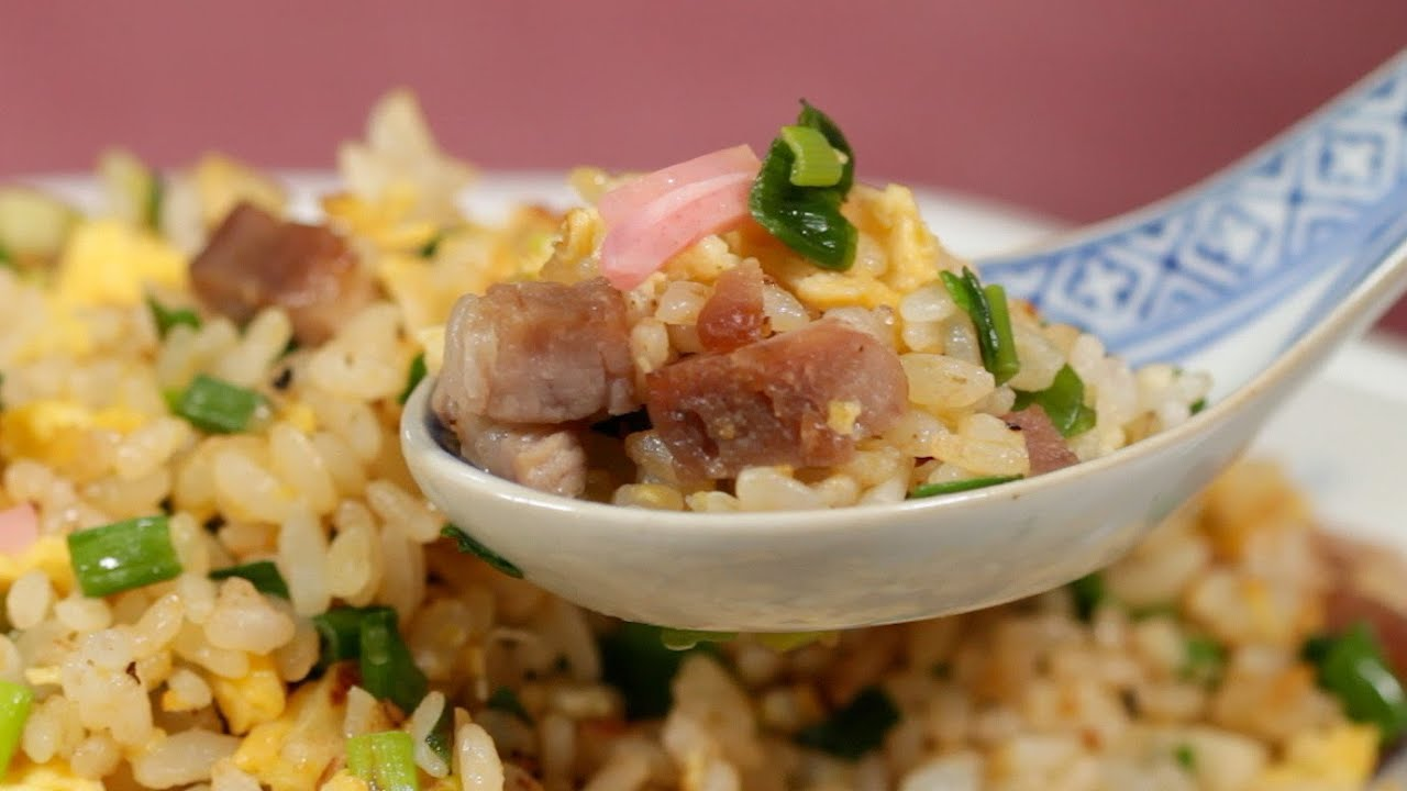 Easy chahan recipe japanese style pork and egg fried rice easy chahan recipe japanese style pork and egg fried rice cooking with dog youtube ccuart Image collections