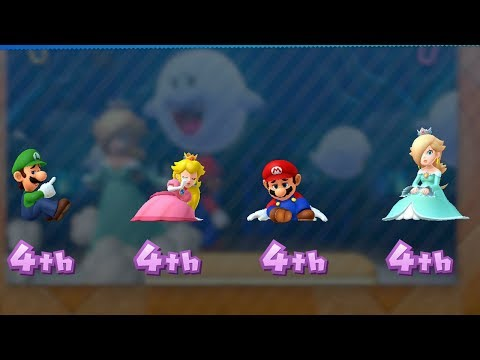 Mario Party 10 - Coin Challenge - Luigi vs Peach vs Mario vs Rosalina | GreenSpot