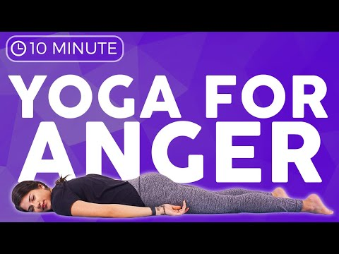 10 minute CALMING Yoga for Anger & Frustration