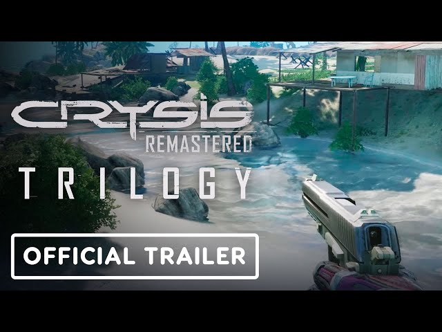 Crysis Remastered Trilogy - Official Xbox 360 vs. Xbox Series X Comparison Trailer