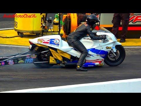 PRO STOCK MOTORCYCLES DRAG RACING NHRA 200mph RACE