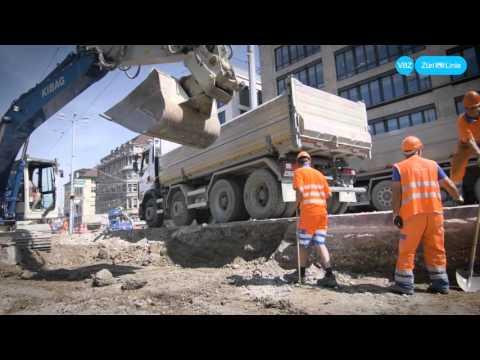 Bellevue-Baustelle Sommer 2015 - ein Zeitrafferfilm