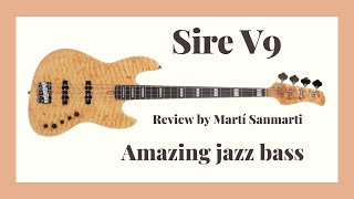 2nd Gen Sire Marcus Miller V9 Review. Amazing jazz bass!
