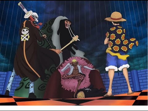 Luffy & Law VS Doflamingo!!! ONE PIECE EPIC FIGHT!!!