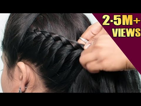 Beautiful Hairstyles for wedding/party/function | cute hairstyles | Hair style girl