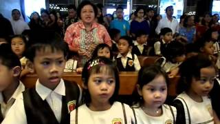 TK B Charitas Jakarta ( Tugas Koor Di Gereja St.Stephanus, Cilandak. Jak-Sel )