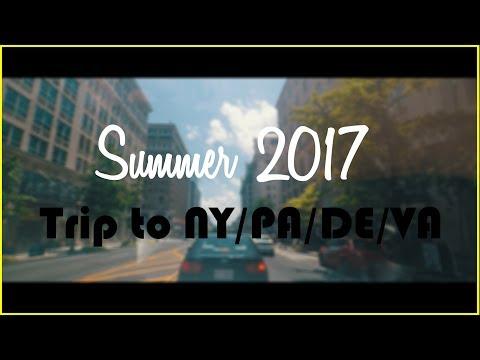 GoPro Hero 5   Amazing trip to 4 different states ( New York, Pennsylvania, Delaware, Virginia)