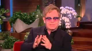 Elton John on his wedding plan on Ellen show