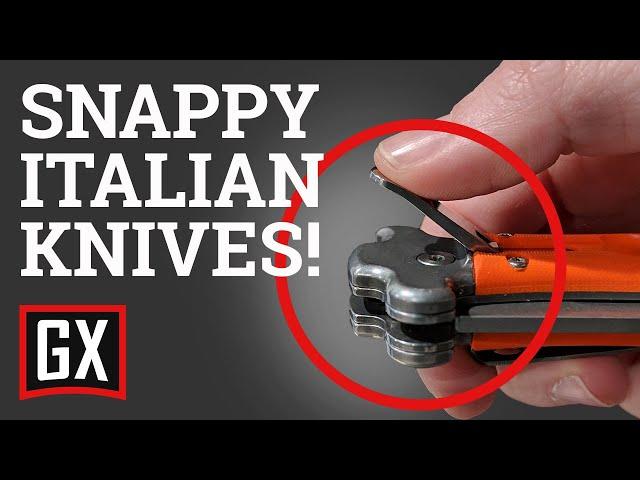 Best Italian Leverlock Knives!