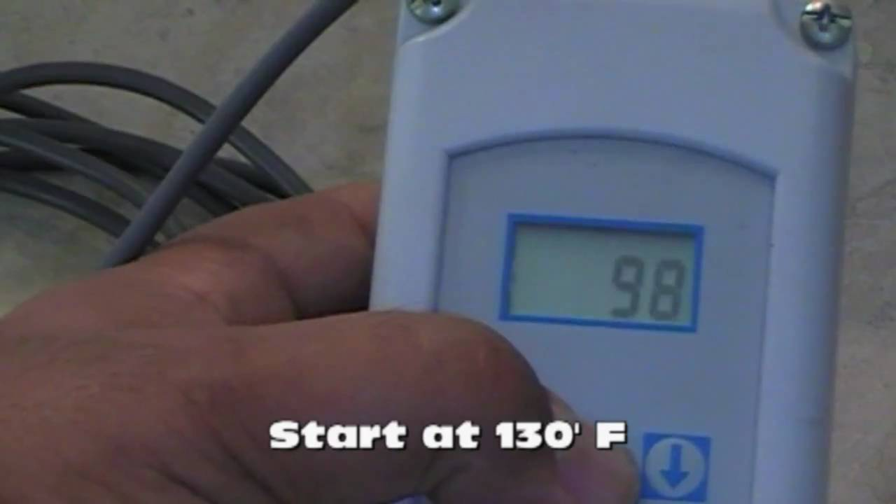 How To Wire A Ranco ETC Digital Temperature Controller - Ranco temperature controller wiring diagram