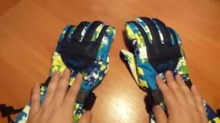 Обзор на горнолыжные перчатки с AliExpress