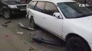 VL.ru - Девушка разбила 11 автомобилей во Владивостоке