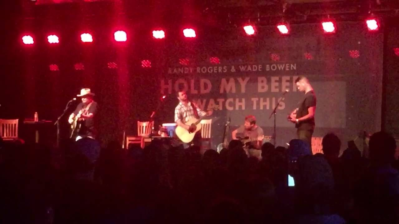 Randy Rogers Wade Bowen San Antone At Floores Country Store
