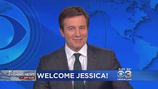 CBS Evening News Anchor Jeff Glor Shares Message For New CBS3 Anchor Jessica Kartalija