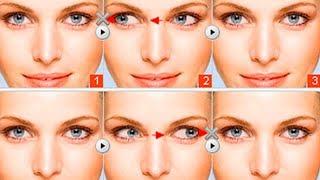 Гимнастика для глаз после блефаропластики, видео урок