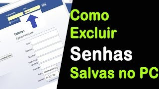 COMO EXCLUIR SENHAS SALVAS NO GOOGLE CHROME | SUPER RÁPIDO