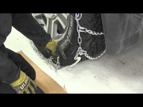 Review of the Glacier Twist Link Snow Tire Chains on a 2005 Ford F-150 - etrailer.com