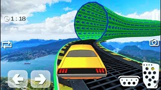 Invisible Highway Car Racing(new car unlocked)-Best Android Gameplay HD #3