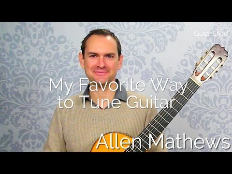 How to Tune a Guitar using Octaves and Reference Points (my favorite!)