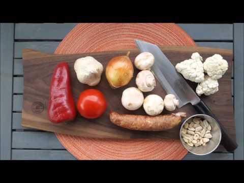 Zelenjava v voku - LCHF recept