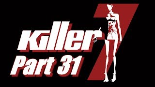 "Let's Play Killer7 Part 31 - INCREDIBLY ""HARD"" PUZZLE & EVERYONES FAVORITE DECAPITATED HEAD SUSIE!"