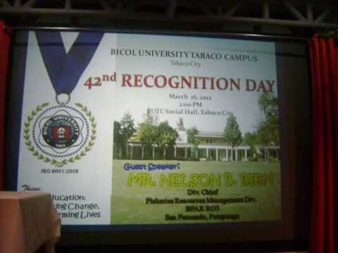 recognition day speech