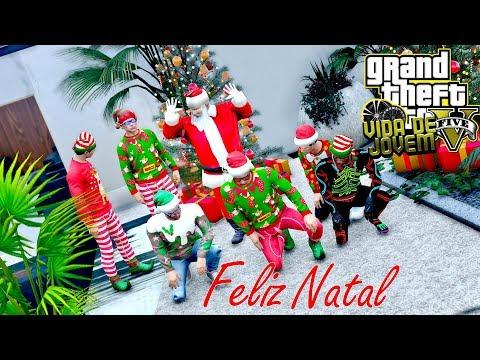 GTA V: VIDA DE JOVEM | ESPECIAL DE NATAL, feliz Natal a TODOS #EP.121