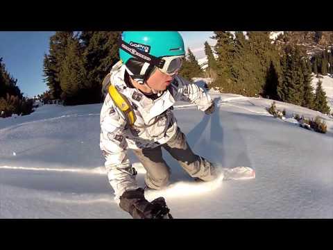 Snowboarding in Karakol, Kyrgyzstan 2012